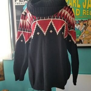Lauren Ralph Lauren Cowl Neck Knit Sweater